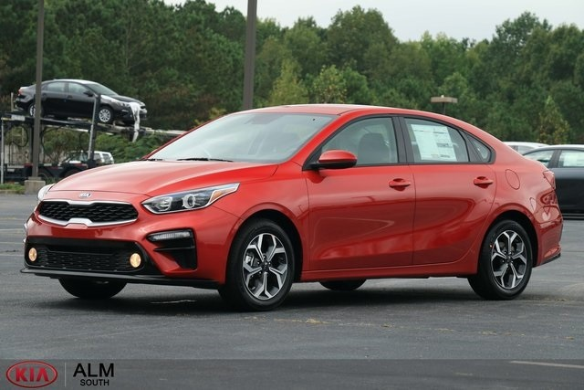 New 2019 Kia Forte Lx 4d Sedan In Union City Ke027462 Alm Kia South